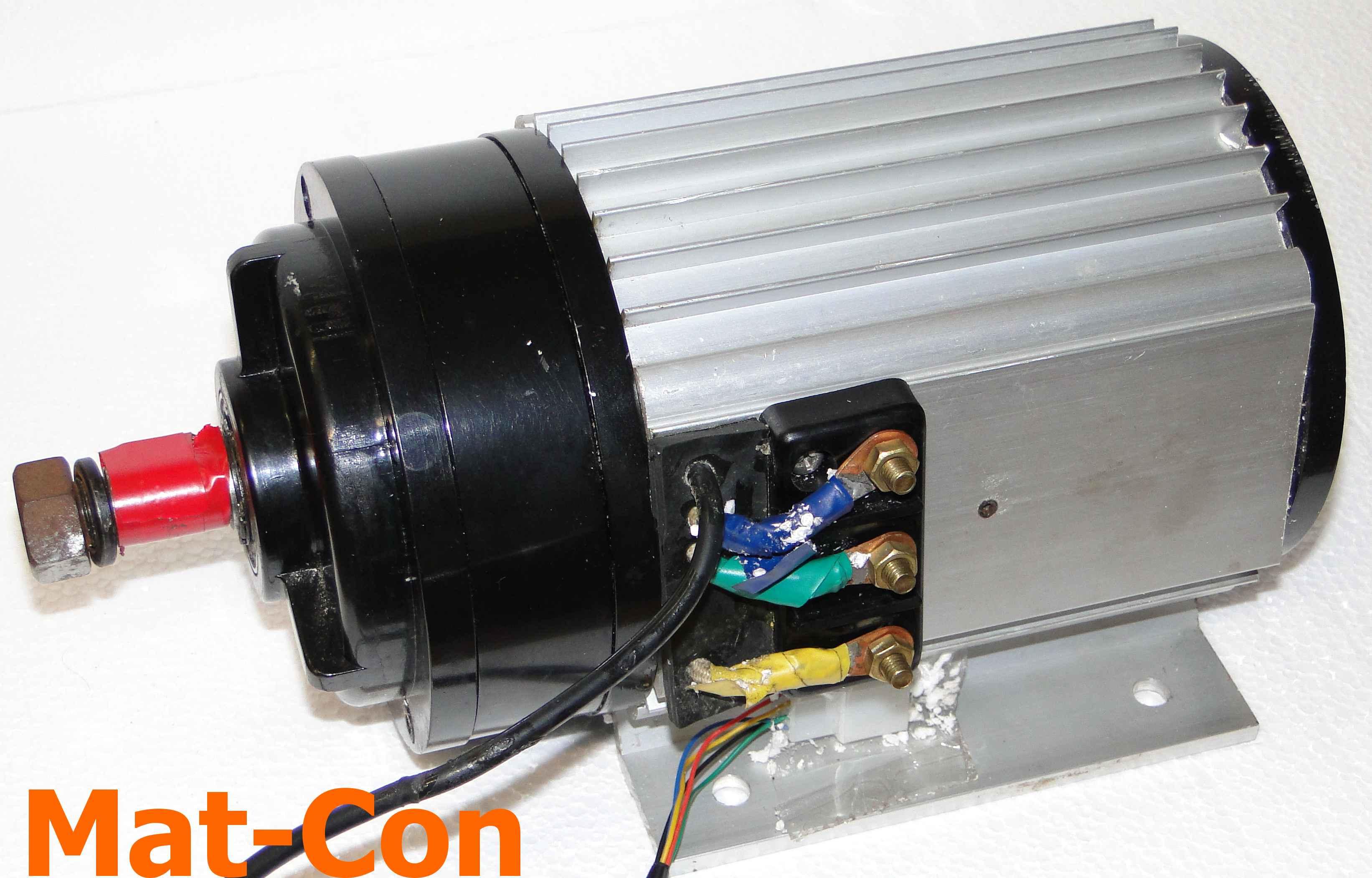 Getriebeelektromotor unite bldc bl2000zx 2kw 4 1kw 48v for Unite motor co ltd