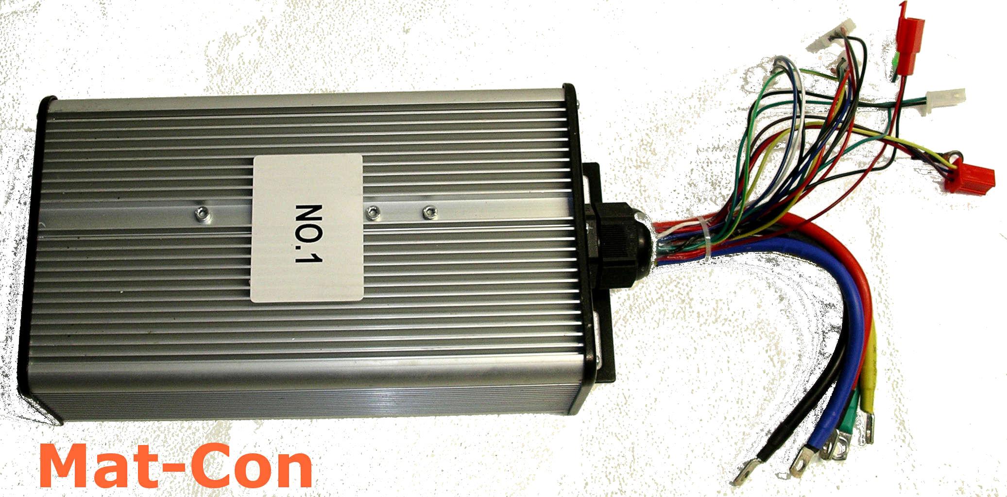 BLDC Controller 48V-120V 120A regen