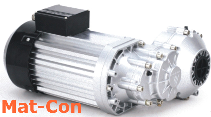 BLDC Differenzialgetriebe E-Motor