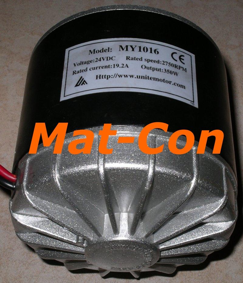 E Motor Unite My1016b4m6 350w 36v Dc 1 22nm Mat Con