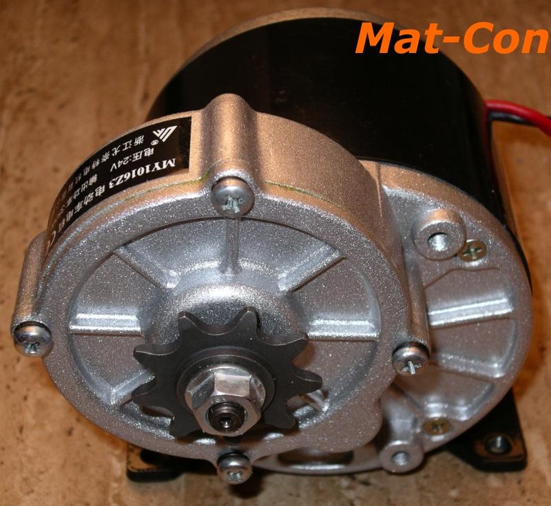 geared motor my1016z3 350W 24V 36V
