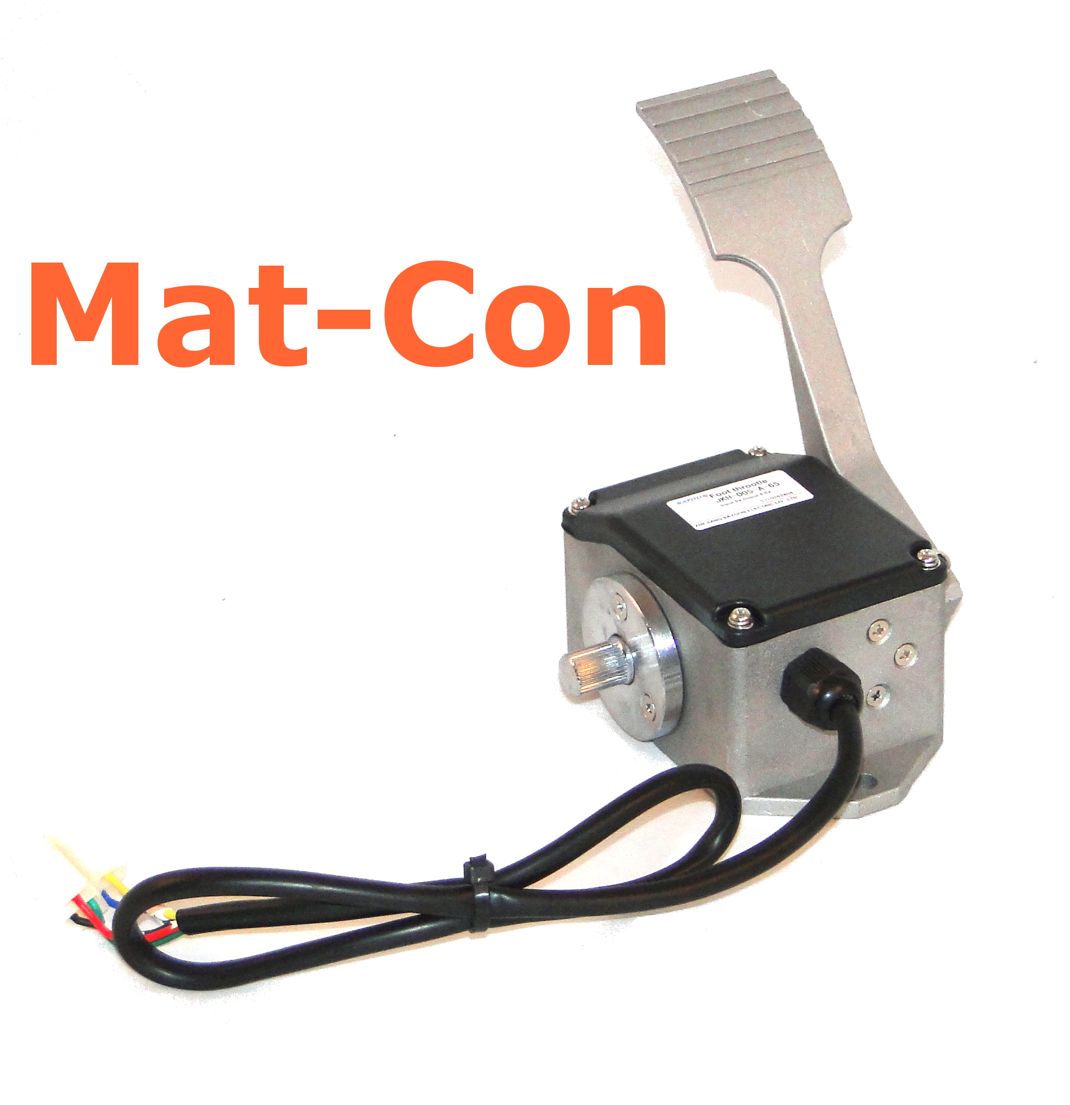 Mat-Con gas pedal foot pedal throttle with switch Sayoon JKH