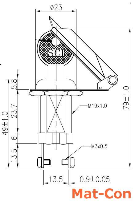 einbau schl sselschalter ein aus 2 schl ssel mit schutzabdeckung. Black Bedroom Furniture Sets. Home Design Ideas