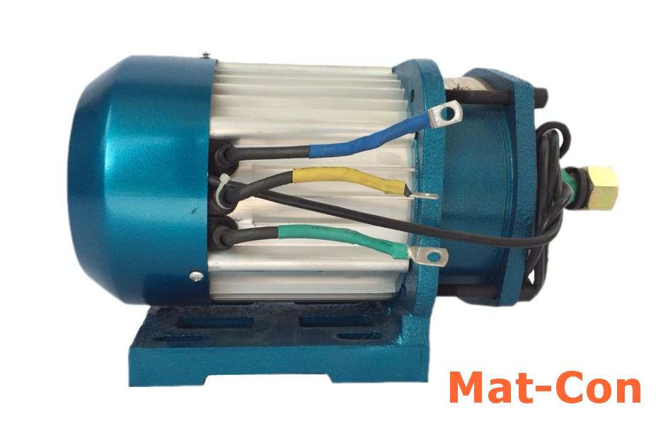 3KW Getriebemotor BLDC 48V Seitenansicht