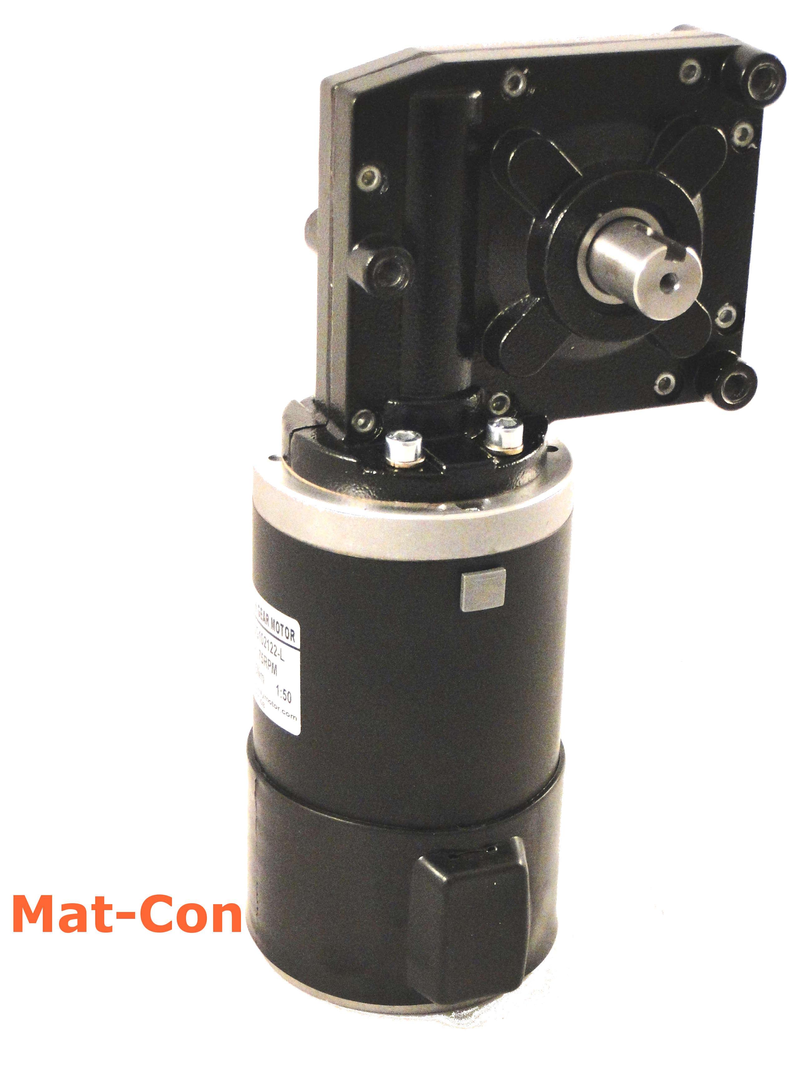 GW114165 DC12//24V 250W 17-340RPM Worm Gear Motor Large Torque High Power CW//CCW